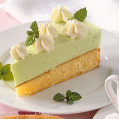 Waldmeister-Sahne-Torte