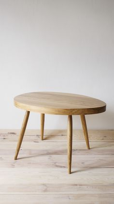 Coffee Table Scandinavian Nature Oak by projekt drewno made in Polandop CROWDYHOUSE