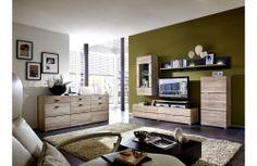 Meuble de salon contemporain en bois - Ensemble #meubledesalon design - Meuble et Canape.com Corner Desk, Home, Desk, Furniture, Entryway