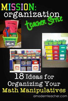 Organizing Math