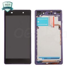 For Sony Xperia Z2 LCD & Touch Screen Assembly With Frame Replacement- Black/Purple @ http://www.ogodeal.com/for-sony-xperia-z2-lcd-digitizer-touch-screen-assembly-with-frame-black-purple.html