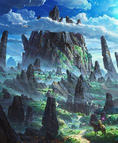 The Art Of Animation, Patrik Hjelm - . The Art Of Animation, Patrik Hjelm - . Fantasy Artwork, Fantasy Art Landscapes, Fantasy Landscape, Landscape Art, Landscape Paintings, Digital Art Fantasy, Environment Concept Art, Environment Design, Game Environment