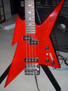 BC Rich Ironbird bass with a Kahler bass tremolo