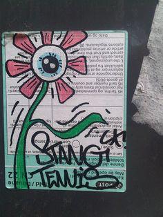 Stang Tennis Sports - Street Art in #Copenhagen