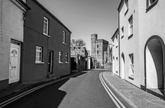 Abbey Street, and Selskar Abbey by Des Kiely Wexford Town, Wexford Ireland, Walks, Gem, Most Beautiful, Highlights, Street, Places, Jewels