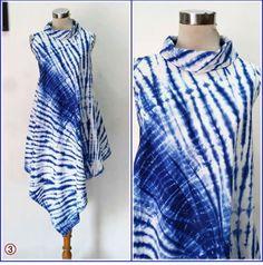 Batik desen Fabric Dyeing Techniques, Tie Dye Techniques, Fashion 2020, Diy Fashion, Fashion Dresses, African Print Fashion, Fashion Prints, Shibori Tie Dye, Batik Fashion