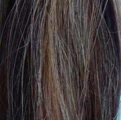 *Remy* 100% Human Hair Extension Clip in Streak - Warm Blonde/Dark Brown Long #StraightBundle