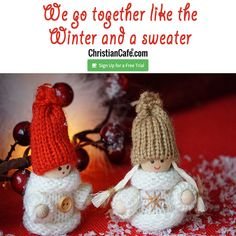 We go together like the Winter and a sweater Christian Singles, We Go Together, Single Dating, Sweater, Free, Together Lets, Jumper, Sweaters, Pullover