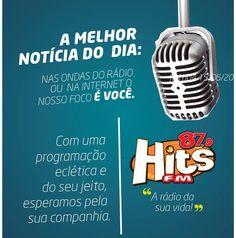 Fique bem informado bem cedo no #hitsnoticias #fmhits