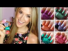Favorite Spring Nail Polish!!! ♥ 2013 - YouTube