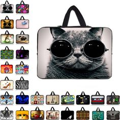 9.7 10 12 13 15 17 inch laptop bag tablet sleeve cases with handle PC handbag 13.3 15.6 14 inch computer notebook cover pouch Y1 #Affiliate