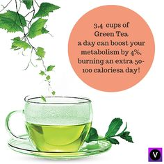 Green tea is your secret helper in staying fit. #greentea, #caloriesburn, #healthyyou