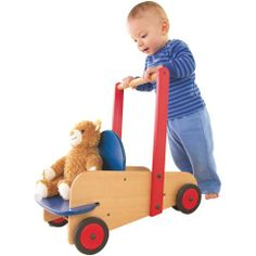 this is such a brilliant toy, especially if you are thinking about having more than one kid. it is gender neutral and will work as a walker for little ones or a stroller for bigger kids and their dolls/stuffed animals. $143.99  #oompatoys #habausa