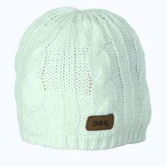 Divas Snow Gear Cable Knit Beanie