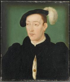 Le dauphin François (1517-1539), fils de François Ier ... Corneille de Lyon (vers 1500-vers 1575) (atelier de)