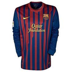 2c6f71794 FC Barcelona Long Sleeve Home Jersey Restocked in Adult Sizes.