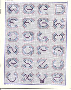 ru / Foto # 12 - 3 punti - K-Kadi Swedish Embroidery, Types Of Embroidery, Cross Stitch Embroidery, Embroidery Patterns, Hand Embroidery, Huck Towels, Swedish Weaving Patterns, Different Lettering, Chicken Scratch Embroidery