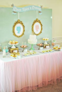 Project Nursery - Royal Baby Shower Dessert Table