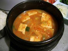 Korean food / Doenjang jjigae