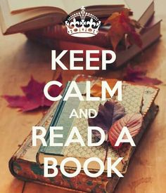 Keep Calm | Read A Book