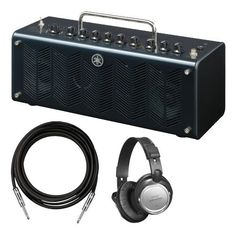 Yamaha THR10C CLASSIC 10 watt (5W+5W) Stereo Amplifier Head w/Headphones and Guitar Cable
