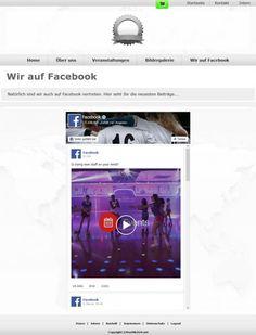 Mit dem neuen Facebook-Element kann die eigene Facebookseite in die TeamWebber-Website integriert werden. Alles, was auf der Facebook-Seite neu gepostet wird, erscheint damit auch auf der Homepage. So brauchen aktuelle News nur bei Facebook gepostet werden und müssen nicht noch einmal separat auf einer News-Seite der Homepage veröffentlicht werden.