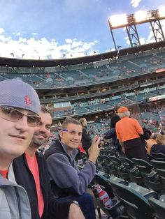 My uncle & cousin at AT&T Park