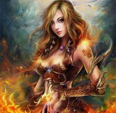 Born of Fire  (Unknown Artist)