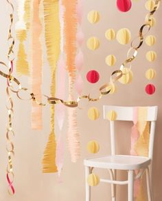 "See the ""Fringed Streamer"" in our Mother's Day Crafts and Decorations gallery"