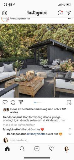 Outdoor Furniture Sets, Outdoor Decor, Outdoor Living, Summertime, Yard, Patio, Instagram, Decks, Home Decor