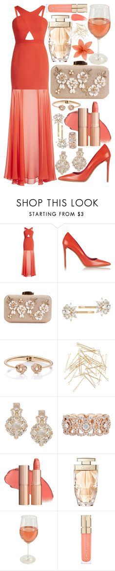 """""""reloading"""" by loveselena22 ❤ liked on Polyvore featuring BCBGMAXAZRIA, Nicholas Kirkwood, Trina Turk, Kate Spade, Monki, De Beers, Cartier, Smith & Cult and Burberry"""