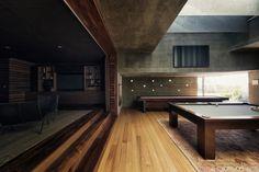 Atalaya House / Alberto Kalach #wood #concrete