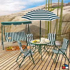 Juego #terraza Country #jardin