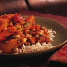 Indian Vegetable Stew Recipe - not too bad!  Love the chunkiness but could have used more spices.  Will try doubling it up next time!
