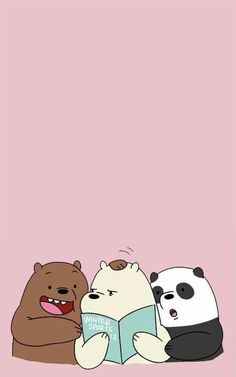 Pin By Nicole Andrea Gene Durante On We Bare Bears Phone Mobile Wallpaper, Panda Panpan Polar Bear Ice Bear Grizzly Bear -- -- pin Bear Wallpaper, Kawaii Wallpaper, Wallpaper Iphone Cute, Cute Disney Wallpaper, Mobile Wallpaper, Gold Wallpaper, We Bare Bears Wallpapers, Panda Wallpapers, Cute Cartoon Wallpapers