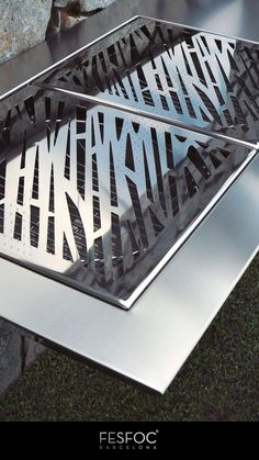 Our structural engineers took inspiration from the design of the most modern bridges, achieving a stunning outdoor modern barbecue design. This barbeque design outdoor living has reverse pyramid trunk geometry, providing a very powerful visual effect. Stromboli charcoal grill station, it's one of the several charcoal barbecue grills that our craftsmen have created. Its structure becomes a sleek sheet without edges. Don't wait and go for your practical and small coal grill. #modernbarbecue Outdoor Grill Area, Outdoor Grill Station, Small Outdoor Patios, Patio Grill, Outdoor Living, Gas And Charcoal Bbq, Charcoal Bbq Grill, Best Charcoal, Design Barbecue