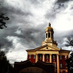 #Baylor University's campus is still beautiful -- even when the weather is not! (via @Megan_Rollow) #sicem