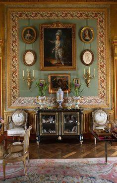 France's ostentatious interior decorator and landscape architect,Jacques Garcia Norman country retreat 'le Chateau du Champ de la Bataille.