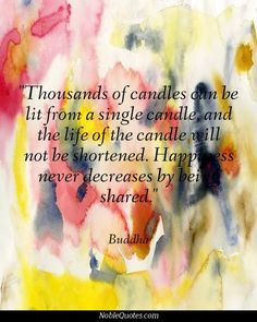 candles . . .
