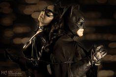 Photo shoot with Batman