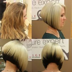 Be for an after to a bob cut