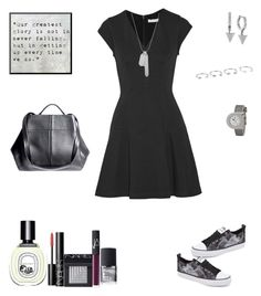 """""""Get Back Up!"""" by sereneowl ❤ liked on Polyvore featuring adidas, Vince Camuto, Rebecca Taylor, The Transience, Diptyque, NARS Cosmetics, NARS, ahalife, vincecamuto and diptyque"""