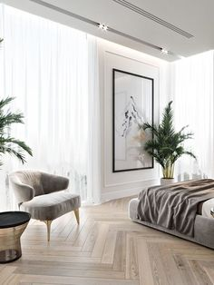 Mid-Century Bedroom Decor Tips & Tricks to Make This Bedroom Decor Last You Seasons and Seasons. Decorating a bedroom decor might be one of the biggest hardship Home Bedroom, Modern Bedroom, Bedroom Decor, Contemporary Bedroom, Bedroom Ideas, Bedroom Furniture, Bedroom Romantic, Dream Bedroom, Bedroom Design Minimalist