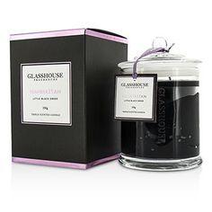 Glasshouse - Τριπλό Αρωματισμένο Κερί - Manhattan (Μικρό Μαύρο Φόρεμα)   GR