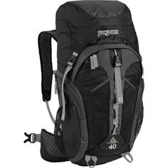 JanSport Katahdin 40L Backpack - 2440cu in - You've committed to an overnight backpacking trip, and now you need to find a comfortable pack that won't break the bank. Look no further than the modestly priced and fully featured JanSport Katahdin ... - Casual Daypacks - Sporting Goods -