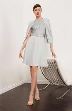 St. John Collection Cardigan & Dress