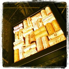 Save your wine corks and bring them into FastFrame of LoDo and let us create a custom framed wine cork trivet!