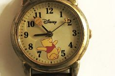 SALE 25% OFF Vintage Winnie The Pooh Watch von PeggyLynnCreations