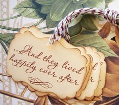 Tags Wedding Gift Tags Happily Ever After Wish Tree by bljgraves, $4.00