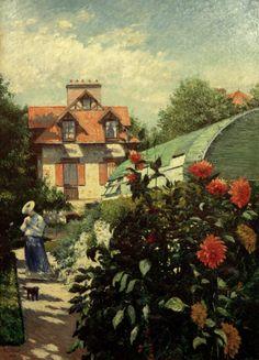 Gustave Caillebotte-Le jardin